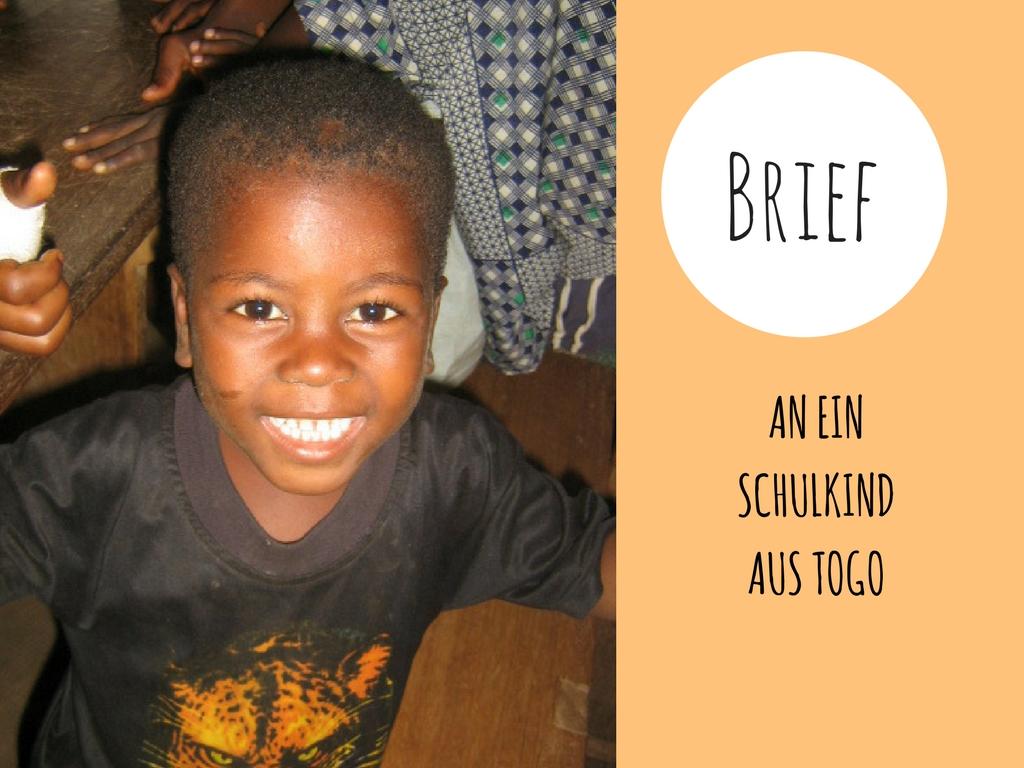Brief an ein Kind in Afrika